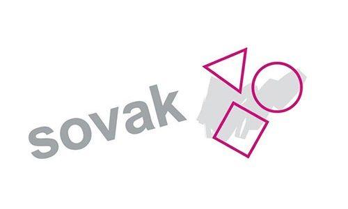 Het logo van Sovak