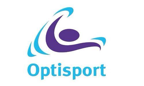 Het logo van Optisport