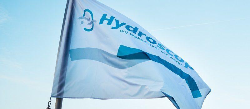 De vlag van Hydroscope
